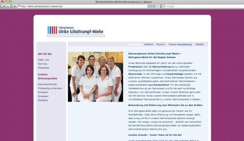 Zahnarztpraxis Seesen Frau Ulrike Schüttrumpf-Miehe