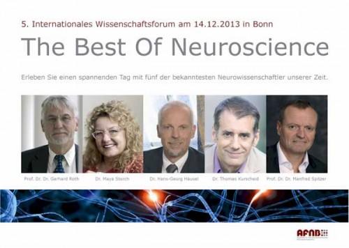 AFNB Wissenschaftsforum 2013